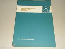 Werkstatthandbuch Einführung Mercedes Benz Elektro.-Pneumatische Schaltung EPS