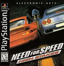 Need For Speed 4: High Stakes, (PS1)