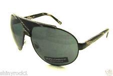 Authentic DOLCE & GABBANA Aviator Sunglasses DG 2056 - 337/87 *NEW*