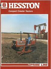 HESSTON COMPACT CRAWLER TRACTOR - 70-65C & 95-55C BROCHURE - BX106