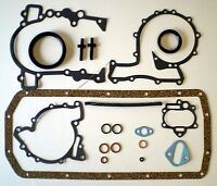 BOTTOM END SUMP GASKET SET FITS RANGE ROVER DISCOVERY SD1 MGB V8 PAN BLOCK