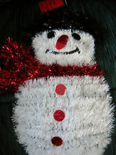 CHRISTMAS ELEGANCE (SNOWMAN DECORATION)  (10 AVAILABLE)