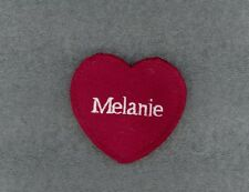 MELANIE Red Felt Heart Ornament Valentine's Day + Christmas + Crafts + Gift Tag