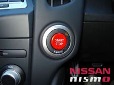 NISSAN GENUINE OEM NISMO RED IGNITION SWITCH PUSH START BUTTON FOR 09-17 370Z