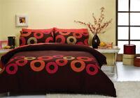 Spiral Duvet   Doona Quilt Cover Set by Sleeping Beauty   Easycare bedlinen
