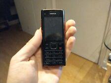 100% Genuine Nokia X2-00 - Black / Red (Unlocked) Mobile Phone rare music