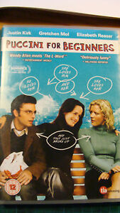 Puccini for Beginners (DVD 2007) Gretchen Mol Justin Kirk Elizabeth Reaser