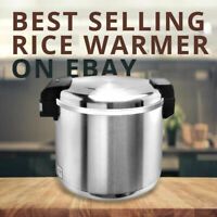 Winware by Winco RW-S450 Rice Warmer 100 Cup