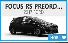 Forza Horizon 4 Unreleased Ford Focus RS Pre-Order Car