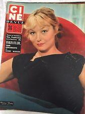Ciné revue no. 7 of 17 February 1956/marina vlady-mario lanza