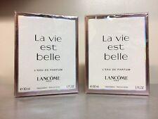 (2) LANCOME La Vie Est Belle L'eau de Parfum 1oz/30ml Sealed NIB FREE SHIP
