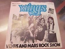 "7"" - Wings - Venus and Mars Rock Show"