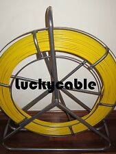 FIBREGLASS RODDER DUCT FISH SNAKE ROPE CABLE PULLER TOOL  4.5 MM X 100MTS