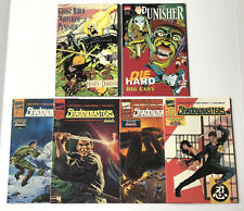 Lot of 6 The Punisher tpbs prestige complete set Shadowmasters Die Hard Big Easy