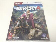 GUIA OFICIAL PRIMA FARCRY 4 . Pal España.. PS3 , PS4