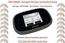 MIFI 8800L Hotspot Jetpack Verizon Unlimited Data 4G LTE $60/month You Own Plan