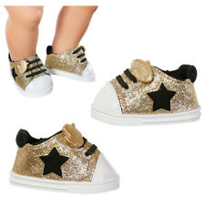 Zapf Creation Baby Born Schuhe Trend Sneakers 43 cm (Gold)