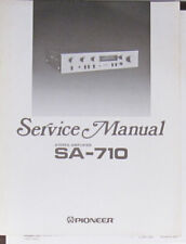 Pioneer SA-710 HIFI Verstärker Service Repair Workshop Manual (Original Version)