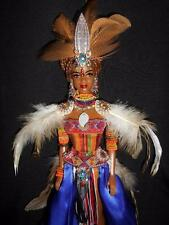 The Queen of Africa ~ World beauty barbie doll ooak custom repaint African AA