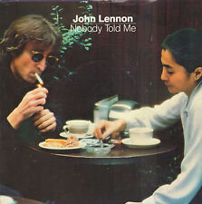 "JOHN LENNON ‎– Nobody Told Me (1984 UK VINYL SINGLE 7"")"