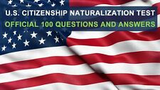 US Citizenship Test Study Guide 2018 (Civics Interview Audio CD) in English