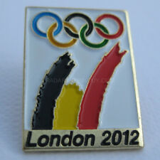 2012 London Summer Olympic Belgium NOC Dated Pin