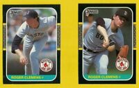 1987 Roger Clemens DONRUSS CARD #PC-14 #276 Lot Vintage Baseball Boston Red Sox
