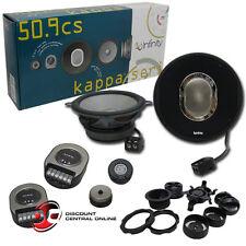 "INFINITY KAPPA 50.9cs 5-1/4""  2-WAY CAR AUDIO COMPONENT SPEAKERS KAPPA50.9CS"