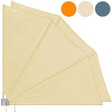 2x Balkonfächer Sichtschutz Windschutz Balkonsichtschutz Sonnenschutz Wand
