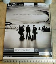 U2 Original All That You Can't Leave Behind Promotional Poster