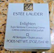 Estee Lauder 0.17oz Enlighten Even Skintone Correcting Creme