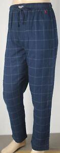 POLO Ralph Lauren Blue Striped Pajamas Lounge Sleep Pants Red Pony