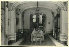 1991 Press Photo Designer Victor Horta's Dining room, Brussels townhome, Belgium