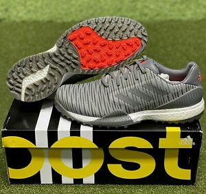 Adidas CodeChaos Sport Golf Shoes EE9112 Grey/Red 10.5 Medium (D) NEW #83706
