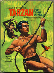 1964 TARZAN OF THE APES Unabridged Edition EDGAR RICE BURROUGHS Book JESSE MARSH