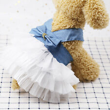 Pet Dog Ballet Skirt Clothes Puppy Cat Dress Chihuahua Dog Apparel Coat Supplies