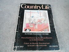 MAY 1927 COUNTRY LIFE vintage magazine ( GREAT ADS ) SUMMER FURNISHING NUMBER