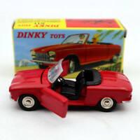 1:43 Atlas Dinky Toys 511 Cabriolet 204 Peugeot Red Diecast models car