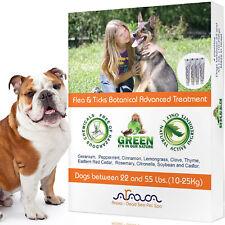 Natural Flea and Tick Prevention Control for Medium Dogs 22-55lb, Arava