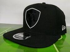 NEW ERA CAP GORRA RAYADOS DE MONTERREY BLACK 9FIFTY SNAPBACK NWT