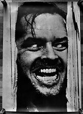 The Shining Jack Nicholson Rare import poster