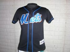 Vintage NEW YORK METS sewn baseball jersey youth Medium