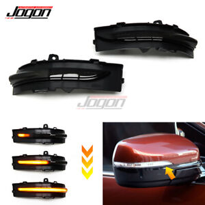 LED Rearview Mirror Lamp Dynamic Turn Signal Light For Ford Edge ST 2015-2019