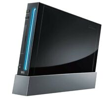 Nintendo Wii Black Console Only (no accessories) (NTSC)