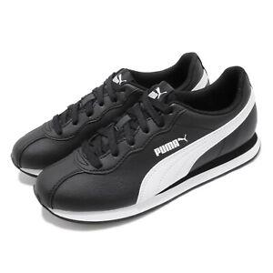 Puma Turin II 2 Black White Men Running Walking Casual Shoes Sneakers 366962-01