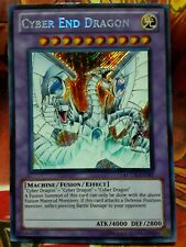 New ListingYugioh Cyber End Dragon Secret Rare Lcgx-En181 Lightly Played Original Art