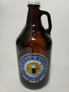 64oz Beer Growler PIZZA PORT Brewing Company San Diego CALIFORNIA Grub & Grog