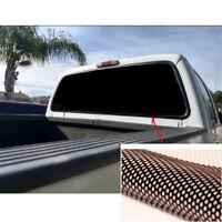 Heckscheibe Aufkleber Sonnenschutz Schwarz Folie 165*56CM für US Auto Van Ford
