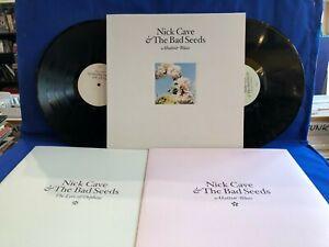NICK CAVE BAD SEEDS ABATTOIR BLUES/LYRE ORPHEUS 2LP ORIGINAL UK LP MINT