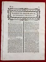 Alep Syrie 1777 Géorgie Floride USA Québec George Washington Académie Sciences